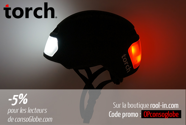Rool'in casque Torch