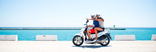 Les scooters électriques de Barcelone désormais en libre service