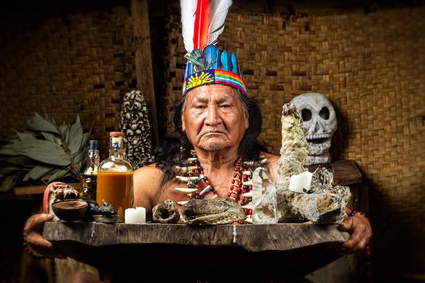 Encyclopédie de médecine traditionnelle Amazonie Chamane