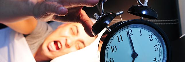 manque de sommeil, réveil difficile