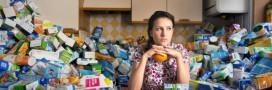 Il stocke 4 ans de déchets pour dénoncer l'inutilité des emballages