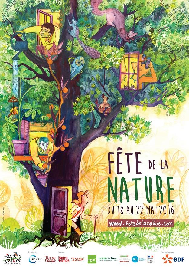 Affiche fête de la Nature