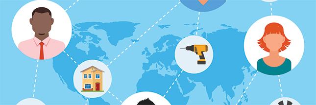 Histoire de l'économie collaborative