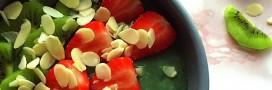 Smoothie bowl à la spiruline et à la banane: pour avoir la pèche dès le matin