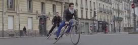 Le Trocadéro-Fixie: le vélo désarticulé