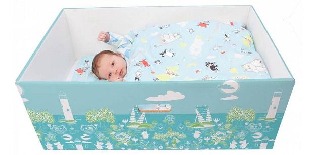 baby box carton