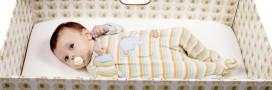 'Baby Box': une boîte en carton pour diminuer la mortalité infantile?