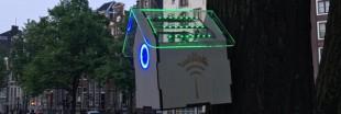TreeWifi : le nichoir à oiseaux qui fait borne wifi quand l'air est bon