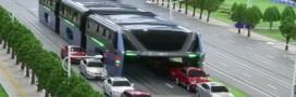 Arnaque: le bus qui enjambe les voitures n'a jamais vraiment existé