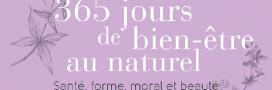 Notre sélection livres: 365 jours de bien-être au naturel