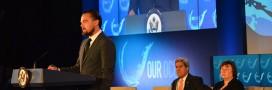 DiCaprio appelle à agir contre le changement climatique