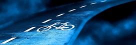 Pologne : une piste cyclable qui s'illumine toute seule la nuit