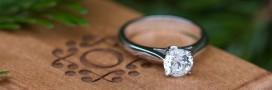 Choisir une bague de fiançailles: préférez le diamant éthique