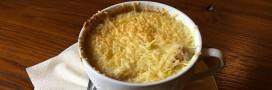 Recette bio: soupe gratinée à l'oignon