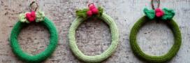 Idées déco pour un Noël 'fait-maison': une couronne à votre image