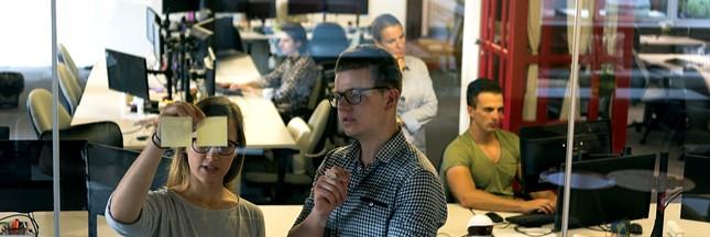 start up entreprise équipe brainstorming