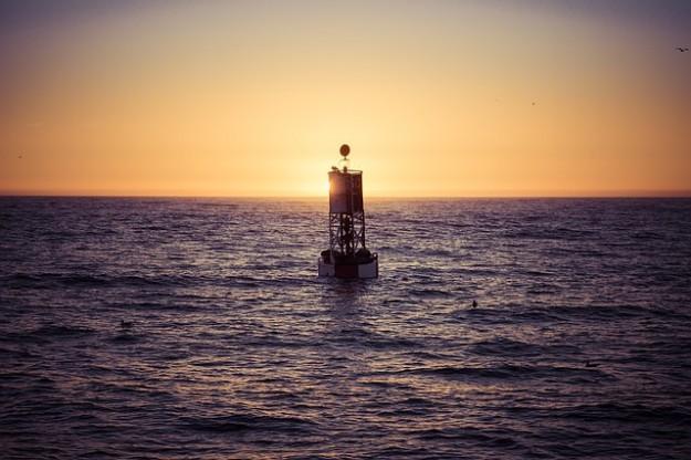 réchauffement des océans, bouée