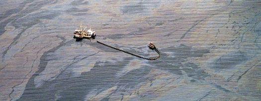 La marée noire de l'Exxon Valdez en Alaska en 1989