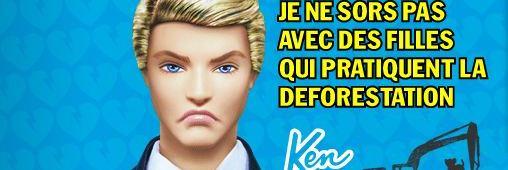 Le divorce de Ken et Barbie, coup dur pour la déforestation !