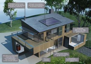 maison bois a energie positive