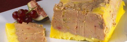 Zoom produit de fête: le foie gras