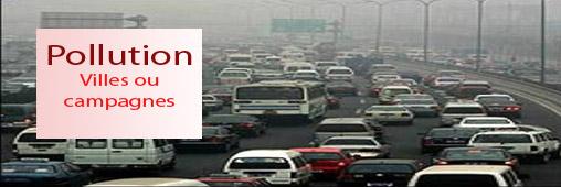 D'où viennent les polluants, de la ville ou des campagnes ?