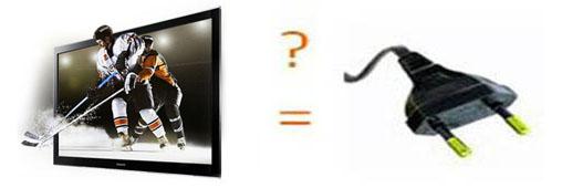 Combien coûte 1 heure de télévision plasma?