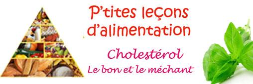 Cholestérol: n'ayez pas peur! on en a besoin