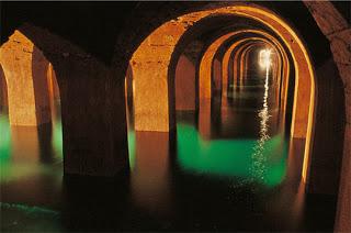 reservoir montsouris-cathedrale-eau
