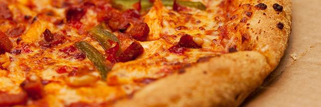 pizza sucre