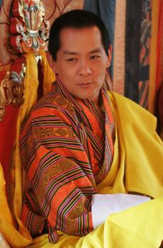 Jigme Singye Wangchuck. Photo : Travelbhutan.com
