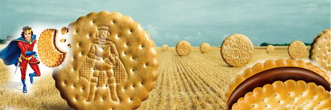 Consommation de biscuits Prince de LU